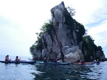 花崗岩の岩肌
