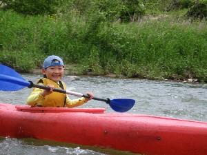 小学生も楽しく漕げる