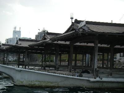 瀬田の屋形舟